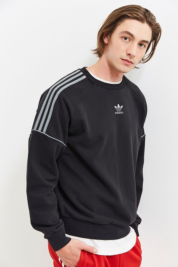 Adidas Pipe Sweatshirt Neck Neck Crew Adidas Pipe Sweatshirt Crew wvqz5Ix