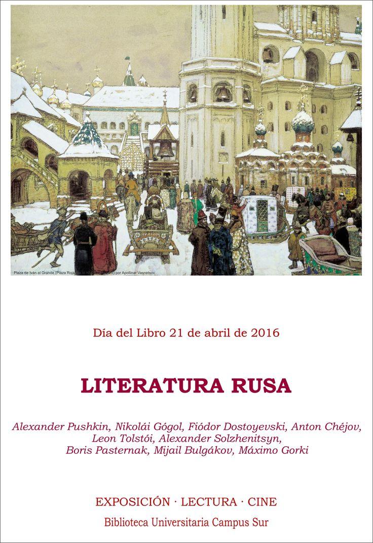 Día del Libro 2016 | Dedicado a la Literatura Rusa |