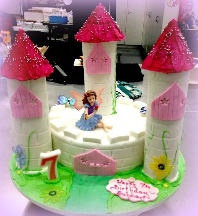 A castle fit for your little princess!