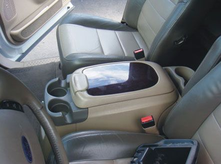 Ford Excursion Floor Console: 2000 - 2005