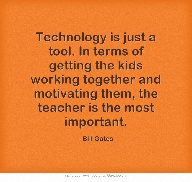 Famous Quotes About Technology In Education: 10 Best Images About Technology Quote On Pinterest