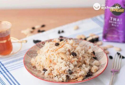 Como preparar arroz árabe   – comida árabe