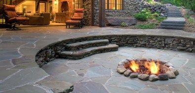 Thinking About Filling In Our Swimming Pool This Would Be A Cool Idea Patio Outdoors Ground Fire Pit Designs Backyard