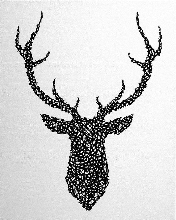 Les 90 meilleures images propos de mon futur tatouage sur pinterest cerf recherche et arbre - Tatouage cerf signification ...