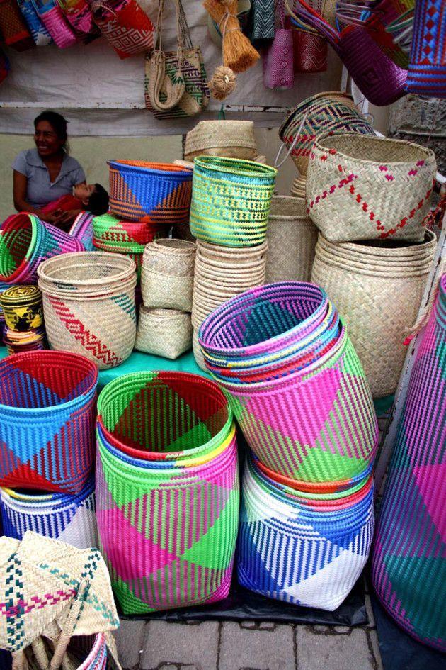 Mercado en Oaxaca, Mexico