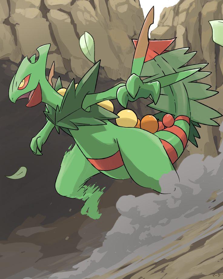 Pokemon: Mega Sceptile by mark331.deviantart.com on @deviantART