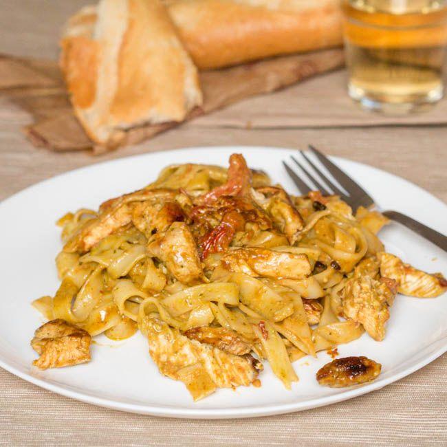 Creme fraiche pasta sauce recipe