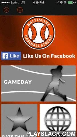 Baltimore Baseball STREAM  Android App - playslack.com , Baltimore Orioles fans! If you want to latest and greatest way to keep up with your favorite team, then check out the Baltimore Baseball STREAM brought to you by Appstronaut Me's SportSStreaM line of apps! Get news, scores, standings, videos and more regarding your beloved Baltimore Orioles.We have also put in a fall wall, chat and other features that you will love! Looking for Wallpapers? We have even made it so you can download…