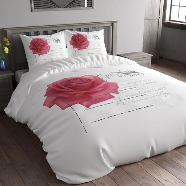 free stamp rose roze with stekkerspot action. Black Bedroom Furniture Sets. Home Design Ideas