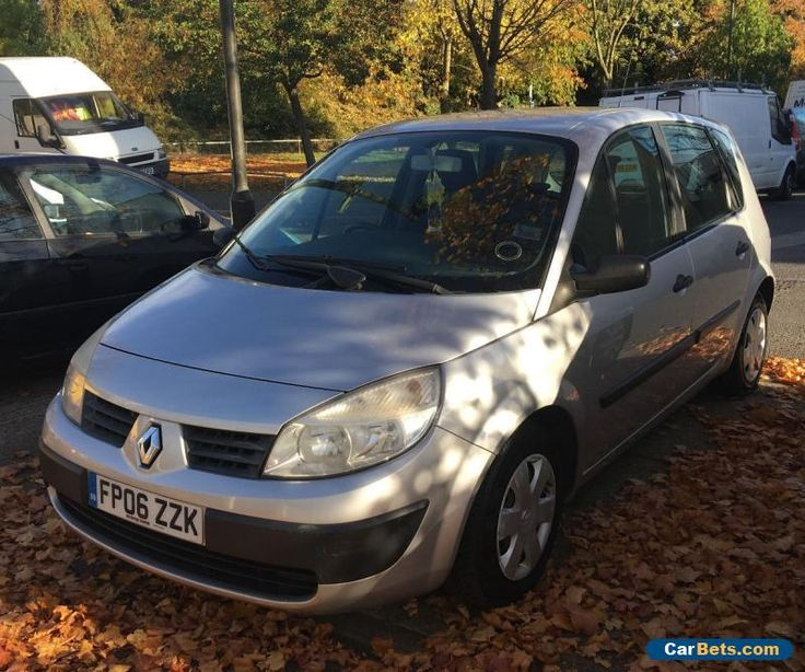 Renault Scenic 1.4L 16v 2006 #renault #scenic #forsale #unitedkingdom