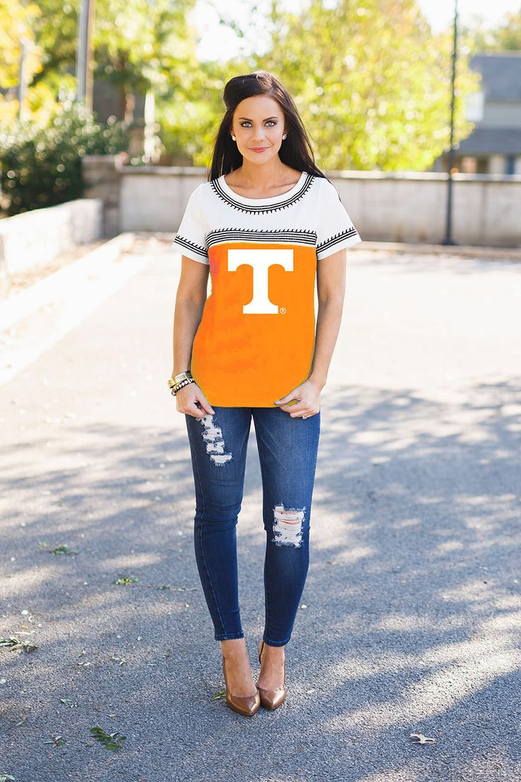 Tennessee Volunteers Catch You Later Embroidered Tee