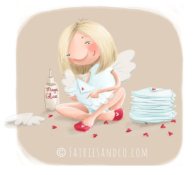 Elina Ellis Illustration: Presents and News from Fairies & Co
