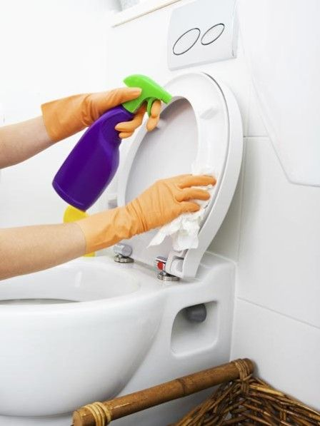 So gründlich wir das Badezimmer auch putzen, einige kleine Stellen können immer übersehen werden. Vor allem, weil wir manchmal gar nicht wissen, wo sich die Keime überhaupt verstecken.