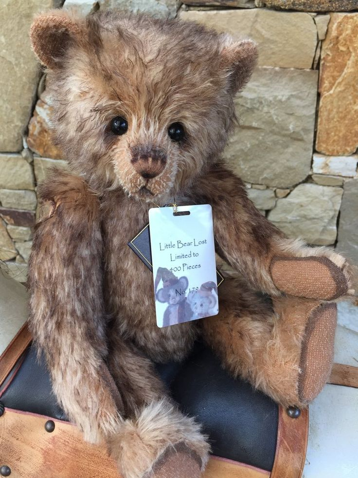 Little Bear Lost Charlie Bears Isabelle Lee Collection Mohair Bear