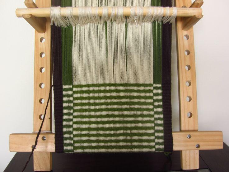 witral, telar mapuche, textil indígena, loom, warp, weft