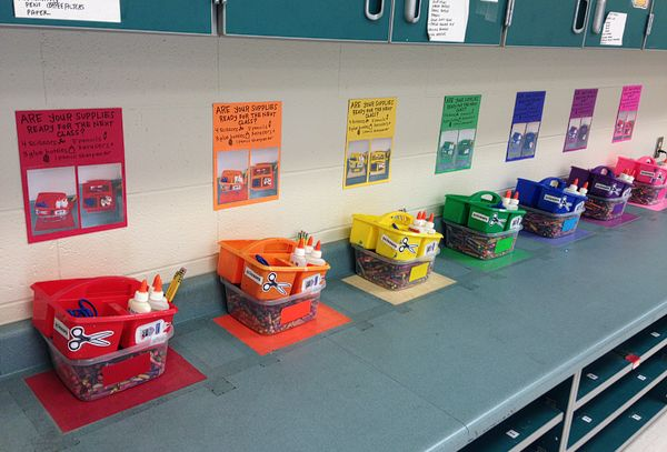 Teach and Shoot: Year Six | Decorating and Organizing the Art Room