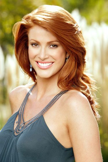 The Best Redhead Celebrities Ever - Esquire:    1995: Angie Everhart  The only redheaded supermodel who really matters.