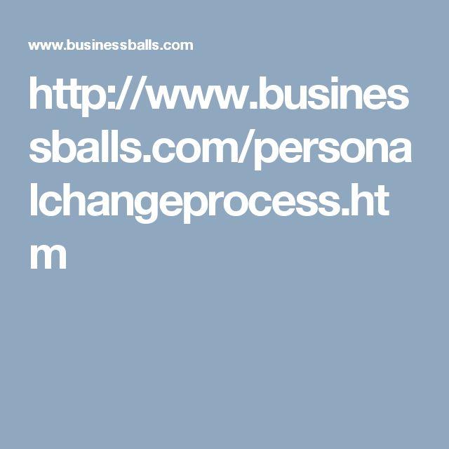 http://www.businessballs.com/personalchangeprocess.htm