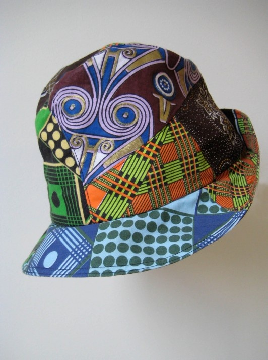 how to make ankara cap