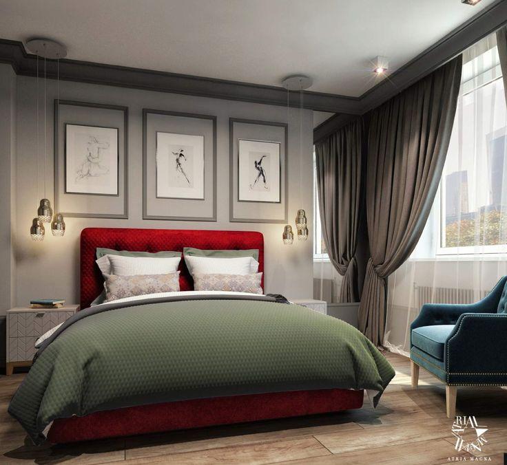 Спальня от Atria Magna. Современная классика. Дизайн интерьеров