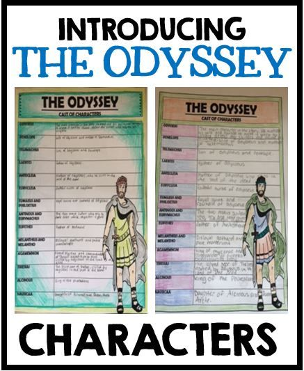A look at the character of women included in the odyssey by homer