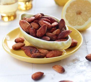 Opskrift på citronmandler | Mandler med citron