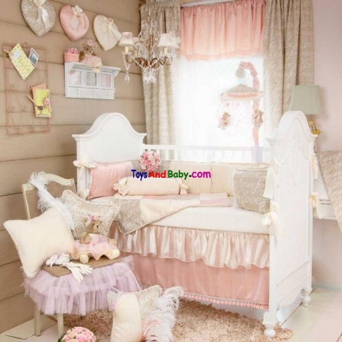 Glenna Jean Love Letters 3 Piece Baby Crib Bedding Set Free Shipping Anywhere In The Continental