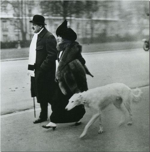 Robert Doisneau Donio, Dresseur du Chien 1946