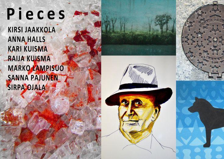 "Pieces - Artyści z Finlandii w Galerii 8+ & Idkart. Uczestnicy wystawy p.t.""Pieces"": Kirsi Jaakkola, Kari Kuisma, Raija Kuisma, Marko Lampisuo and Sirpa Ojala. http://artimperium.pl/wiadomosci/pokaz/350,pieces-artysci-z-finlandii-w-galerii-8-idkart#.U9q9J_l_uSo"