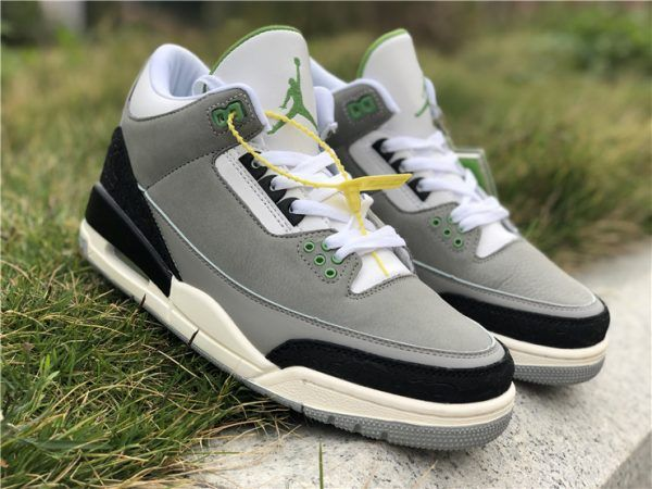 Buy Air Jordan 3 Tinker Chlorophyll Basketball Shoes For Men
