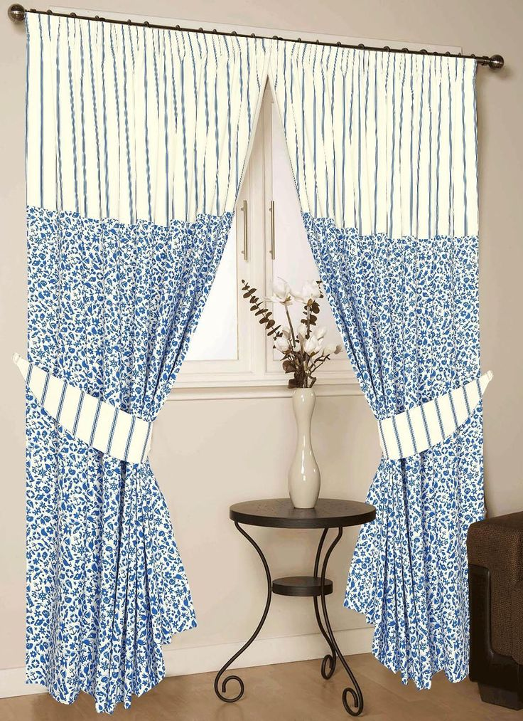 """Love2Sleep CHILDRENS BEDROOM NAUTICAL STRIPED 250 THREAD COUNT COTTON PENCIL PLEAT LINED CURTAINS 66"""" x 72"""" - SEASIDE"""