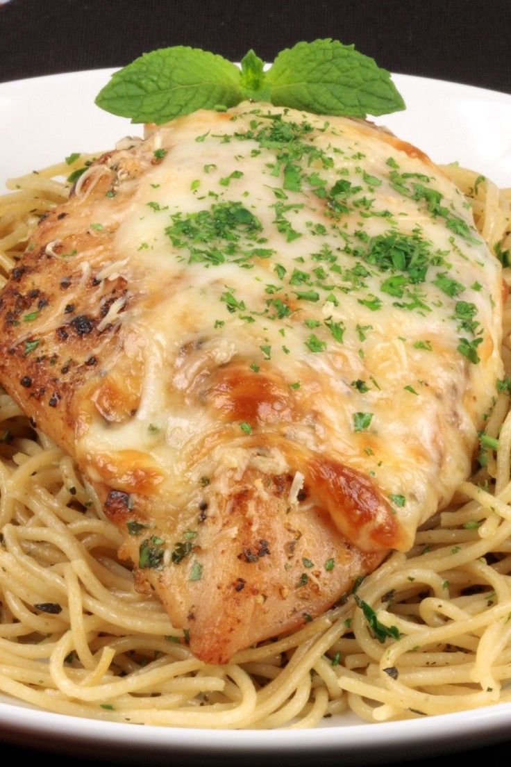 Chicken Saltimbocca: #chicken wrapped with prosciutto ham & topped with melted provolone cheese. #recipe #Italian