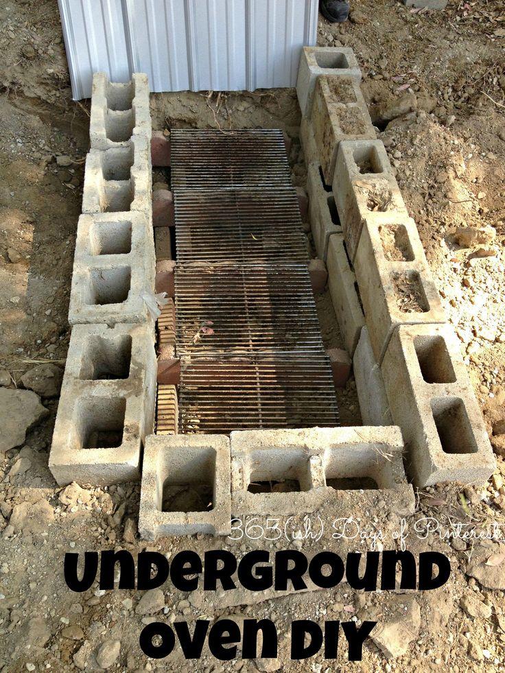Underground oven DIY