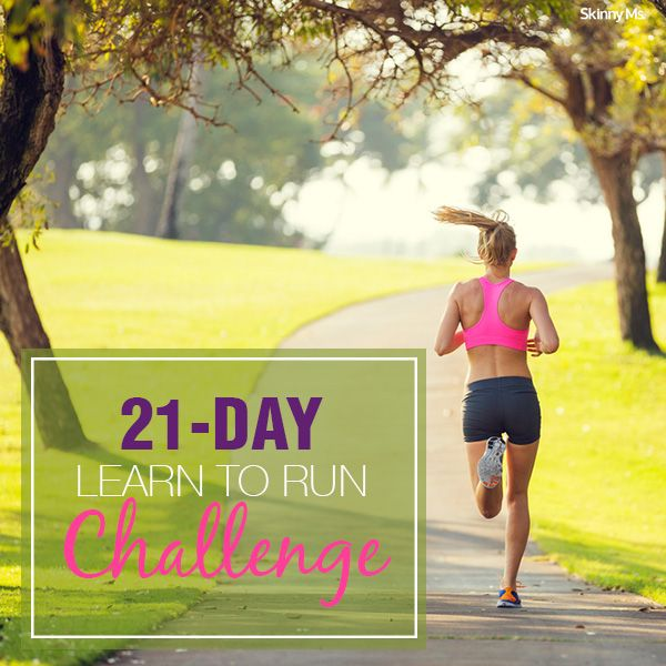 21-Day Learn to Run Challenge