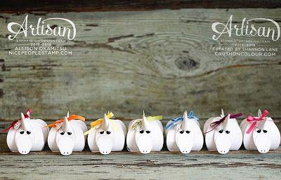 Unicorn Curvy Keepsake Boxes