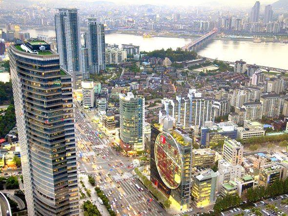 Seul, na Coreia do Sul: capital mundial da tecnologia