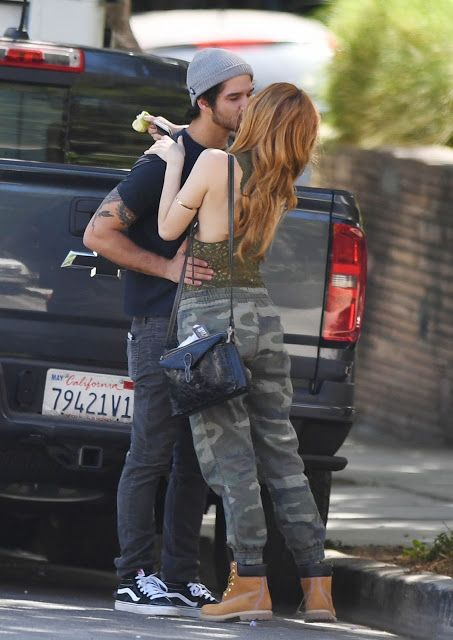 Bella Thorne and her new boyfriend Tyler Posey were spotted Kissing at West Hollywood (September 17/2016) 19 pictures ofBella Thorne inside...