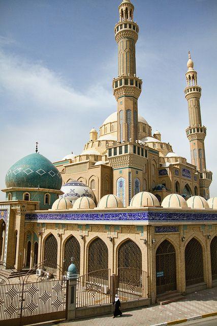 Jalil Al Khayat Mosque in Erbil, Iraq (by tj.blackwell).