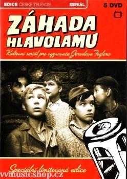Televizní seriál z Edice České televize Záhada hlavolamu na DVD.