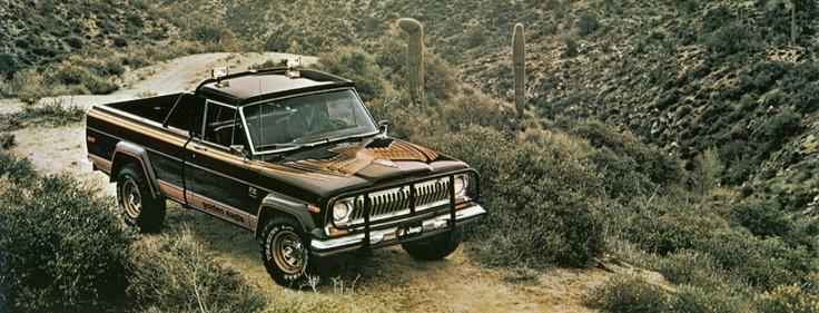 1978 Jeep Golden Eagle Pickup