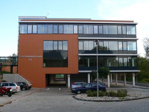 Technology Park of Thomas Bata University - our office