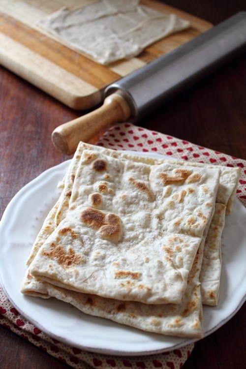 Le mie ricette con e senza: Rgaïf, pane marocchino. Moroccan Flatbread for Bre...