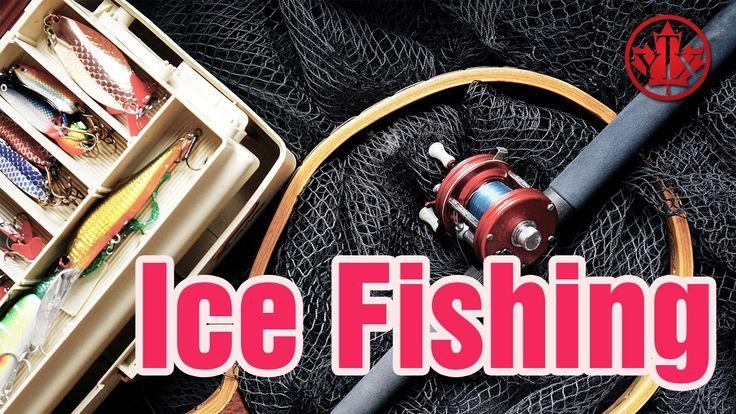 Hacer Pesca en el hielo, Ice Fishing  Vivir en Canada, yotexplico canada