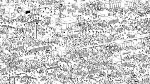 Trova il personaggio nella folla: è in arrivo Hidden Folks, il videogame-enigma più spinoso di sempre.. #madai #dailymadai