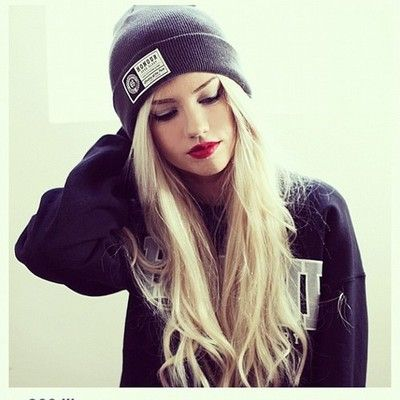 Awe Inspiring 1000 Images About Hats On Pinterest Skater Girl Style Beanie Short Hairstyles Gunalazisus