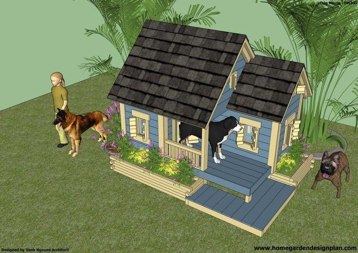 34 best dog house plans images on pinterest | dog house plans