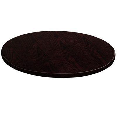 Flash Furniture Round Veneer Table Top