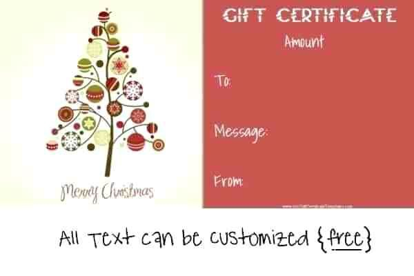 Gift Certificate Template Word Christmas Cover Resume Christmas Gift Certificate Template Gift Certificate Template Christmas Gift Certificate