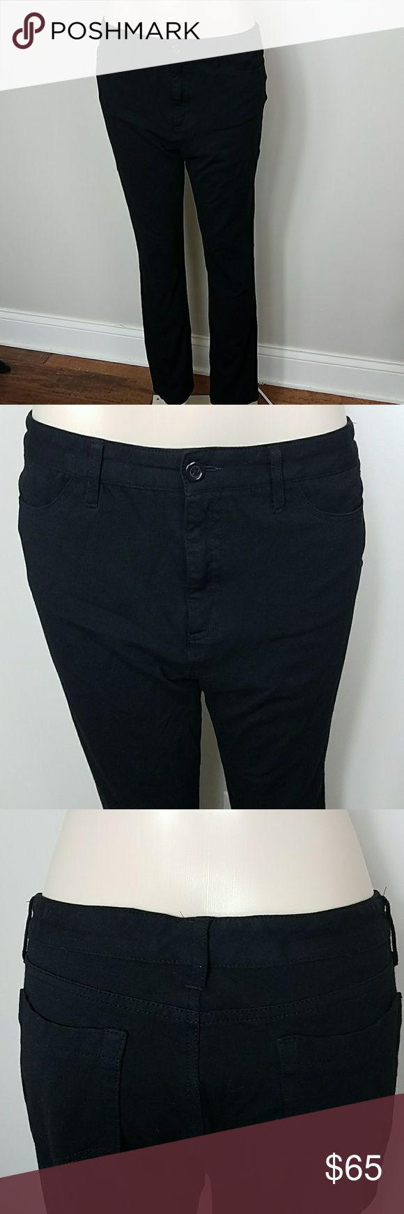 Not Your Daughters Stretch Jeans Black Marilyn Super soft and comfy stretch jean. 14p.  68% Rayon 28% Nylon 4% Spandex Perfect condition,  no flaws NYDJ Jeans Straight Leg