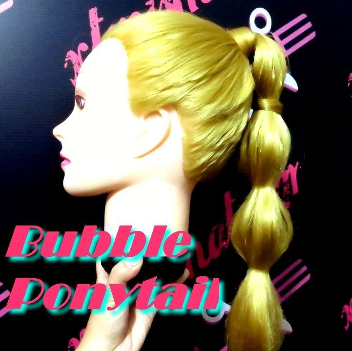Αλογοουρά με φούσκες / Bubble Ponytail